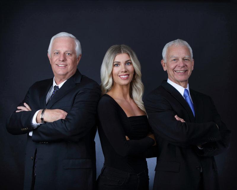Larry Kleinheksel, Briana Beyer, & Steve Bouman