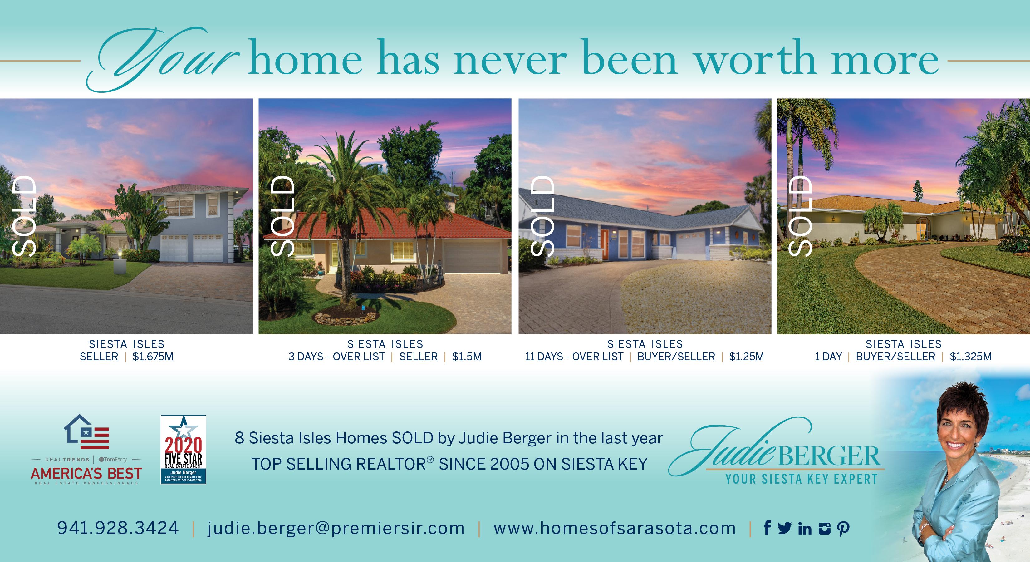 Siesta Isles Homes & Real Estate for Sale by Judie Berger