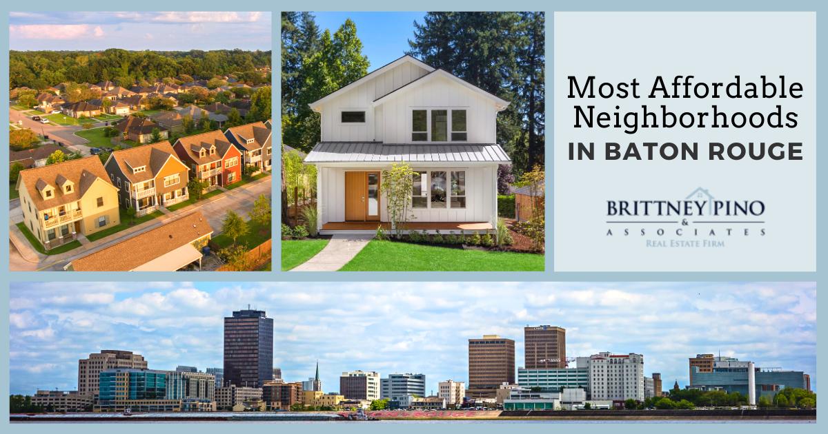 Baton Rouge Most Affordable Neighborhoods