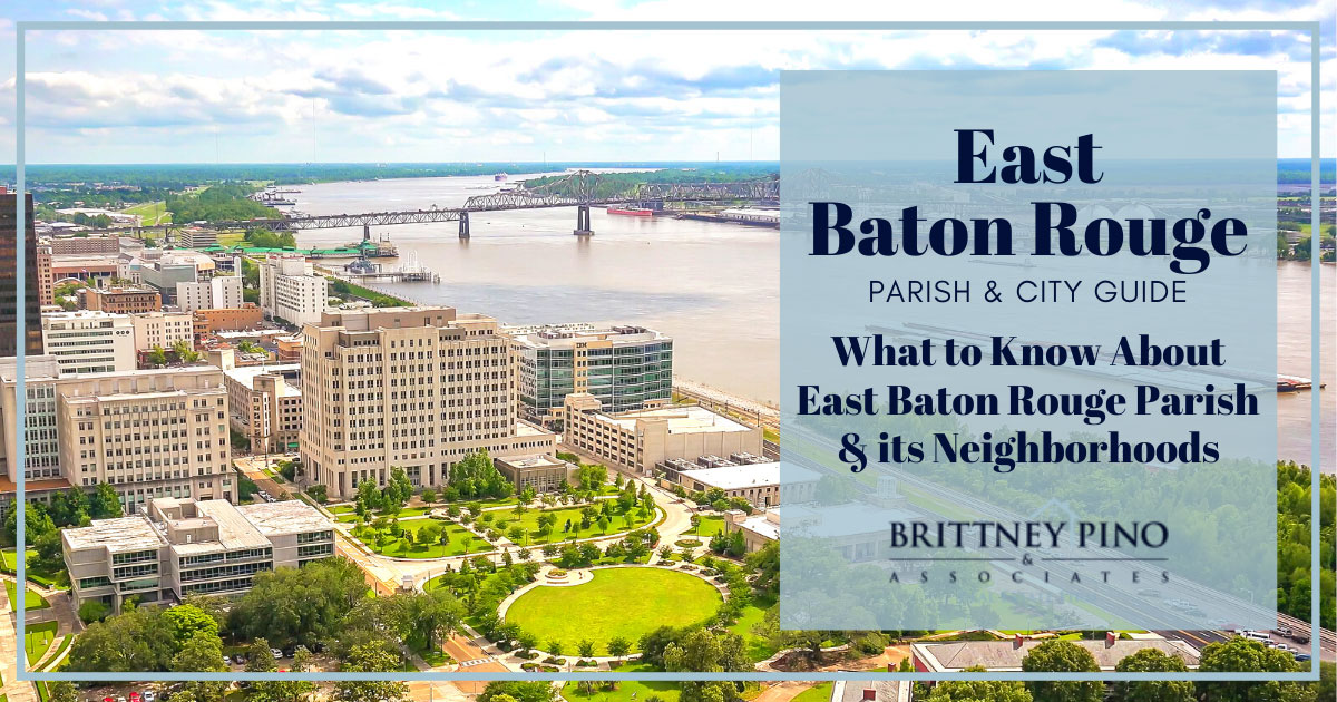 Neighborhoods and Districts in Baton Rouge