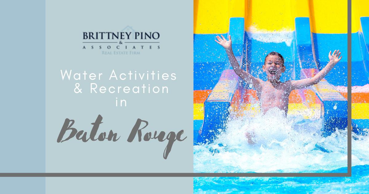 Best Water Activities in Baton Rouge