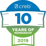 Calgary Real Estate Board ten years membership
