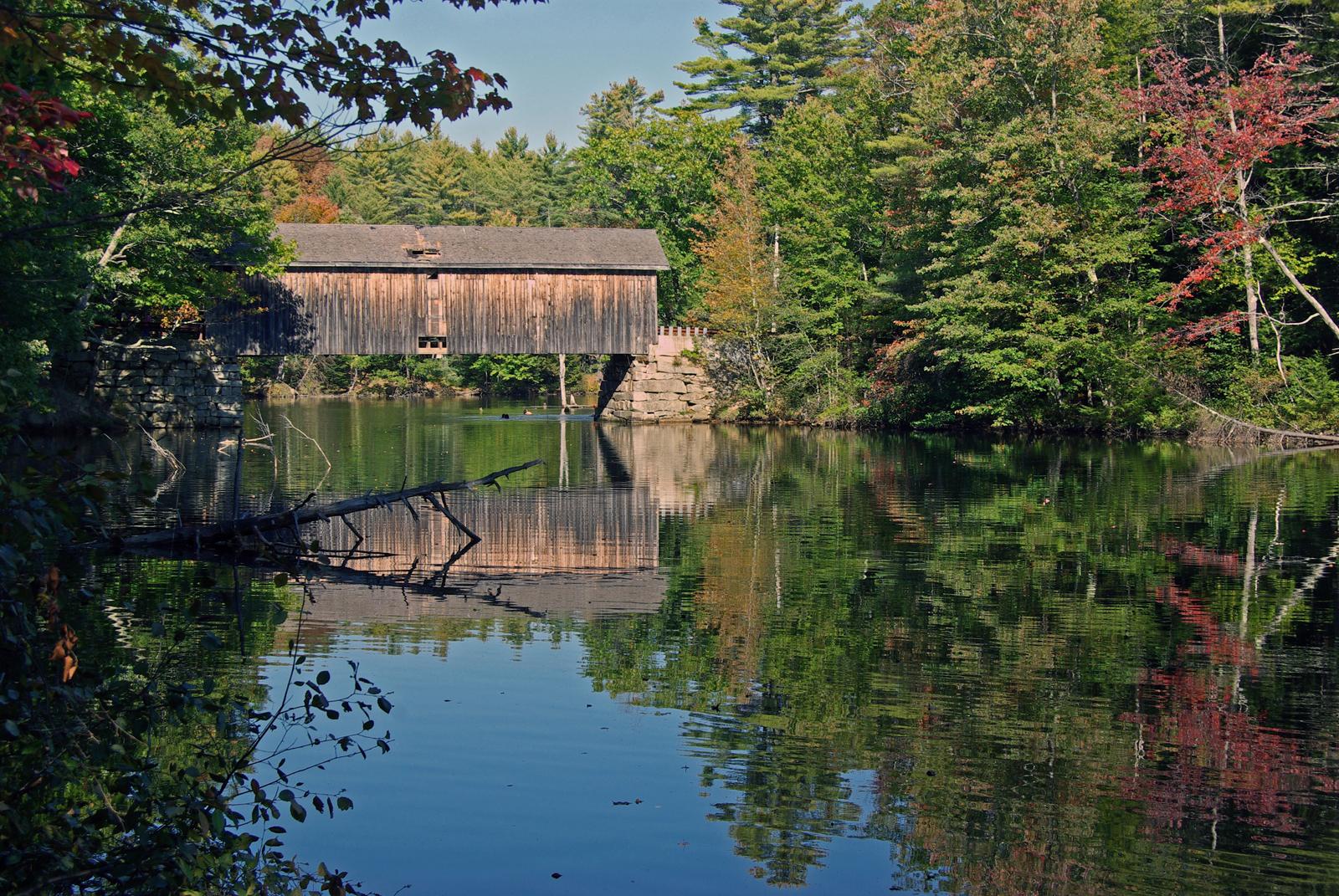 Babb Covered Bridge, Windham Maine