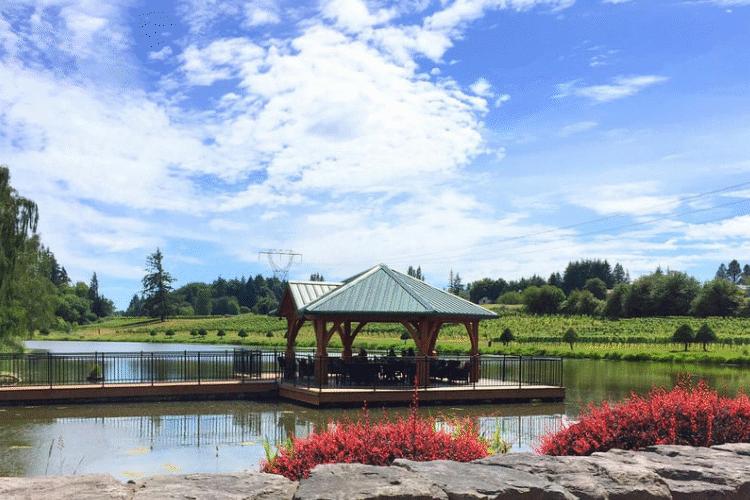 Bethany Vineyard Floating Patio Dock