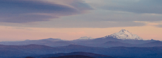Mt. Hood View from Clark County