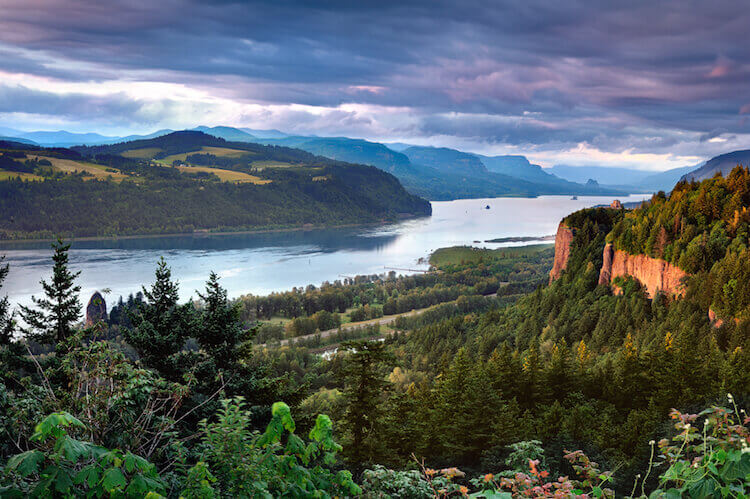 Columbia River Gorge Crown Point