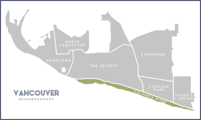 Columbia River Vancouver Neighborhoods
