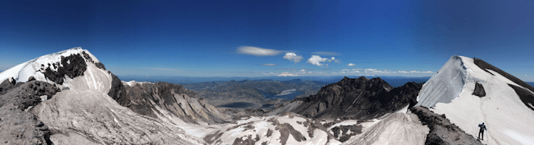 Rim of Mt. St. Helens