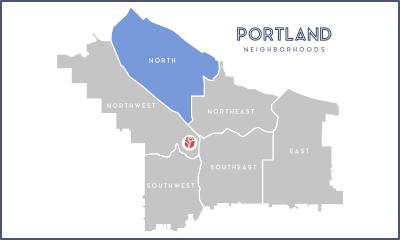 North Portland Oregon