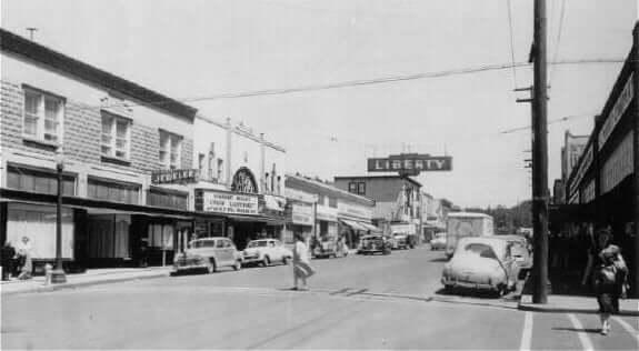 Downtown Camas 1950s