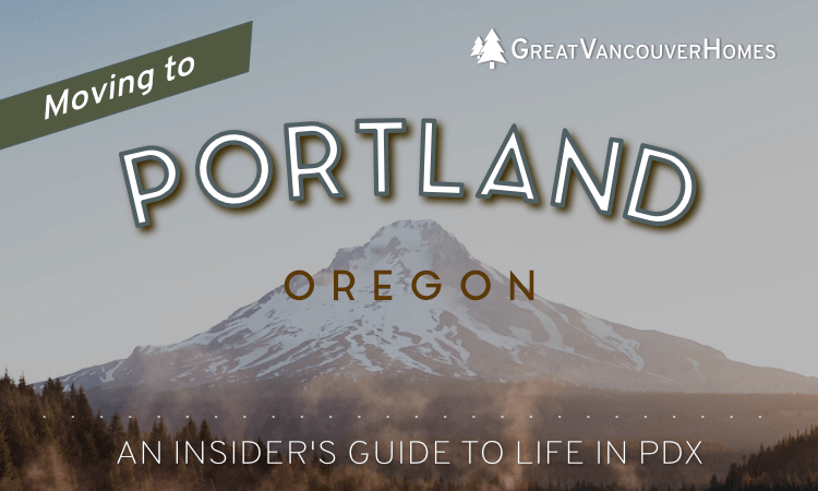Moving to Portland Oregon