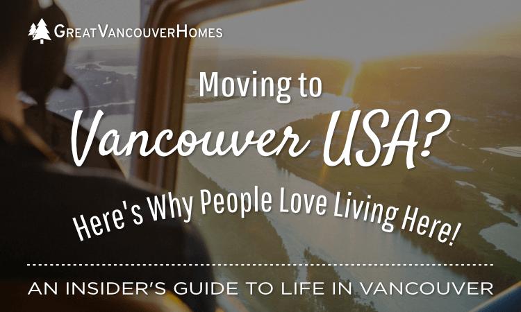 Moving to Vancouver WA