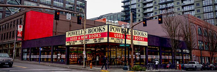 Powell's Books in Pearl District