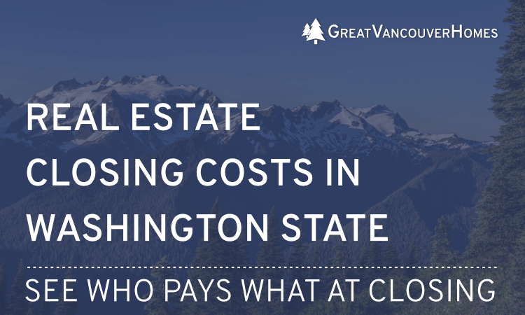 Closing Costs in WA