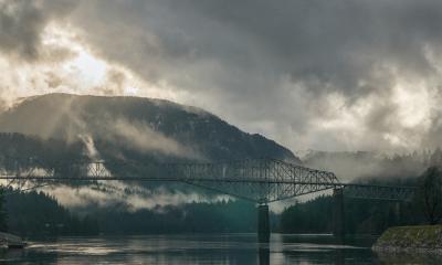 Stevenson Washington Bridge of the Gods