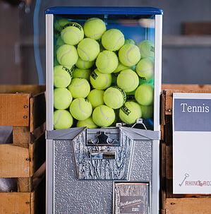 Tennis Ball Dispenser