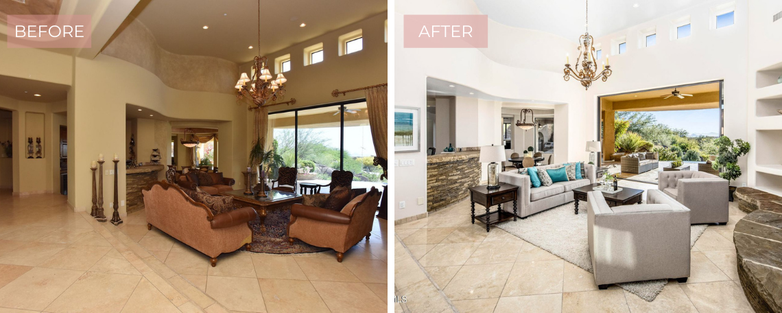 Staging Your Fountain Hills home
