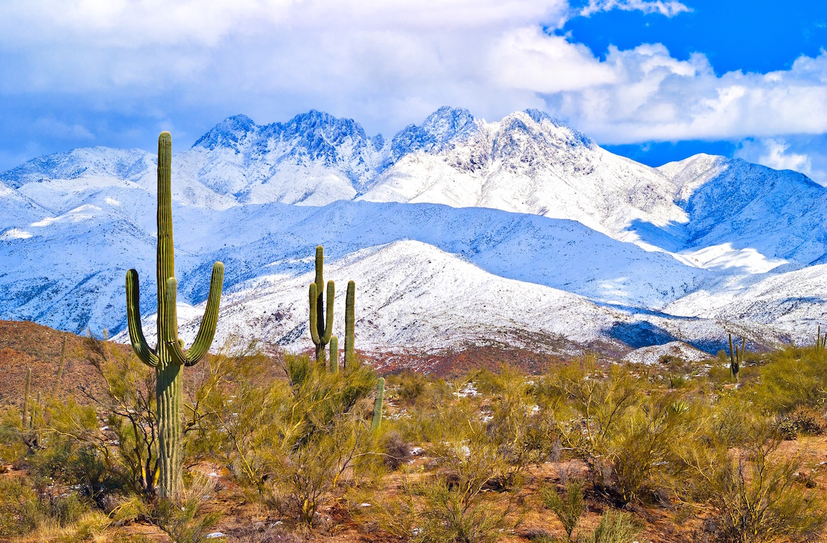 Yes! You Can Enjoy All Four Seasons in Arizona