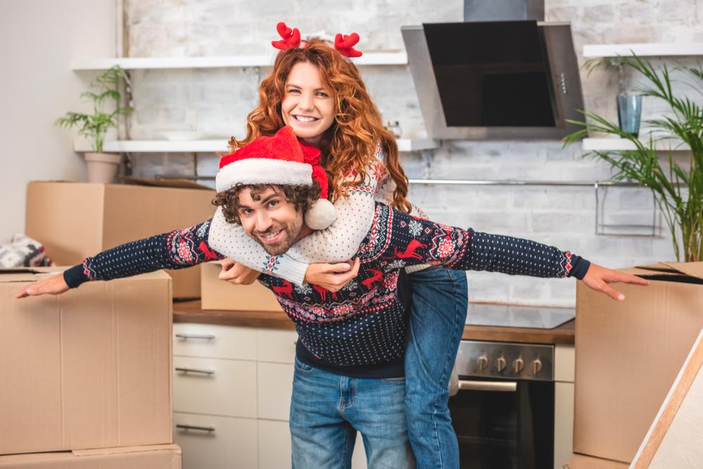 Moving during the Christmas season