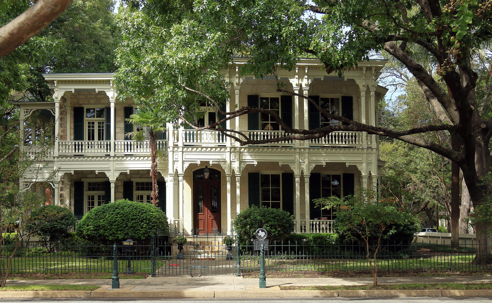 Victorian homes in East Hill Pensacola
