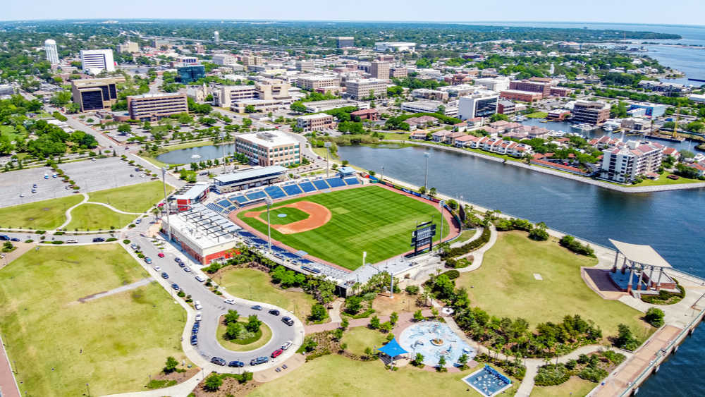 Downtown Pensacola Baseball Stadium