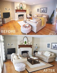 Rearrange your furniture