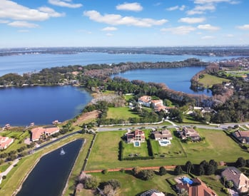 Orlando waterfront homes