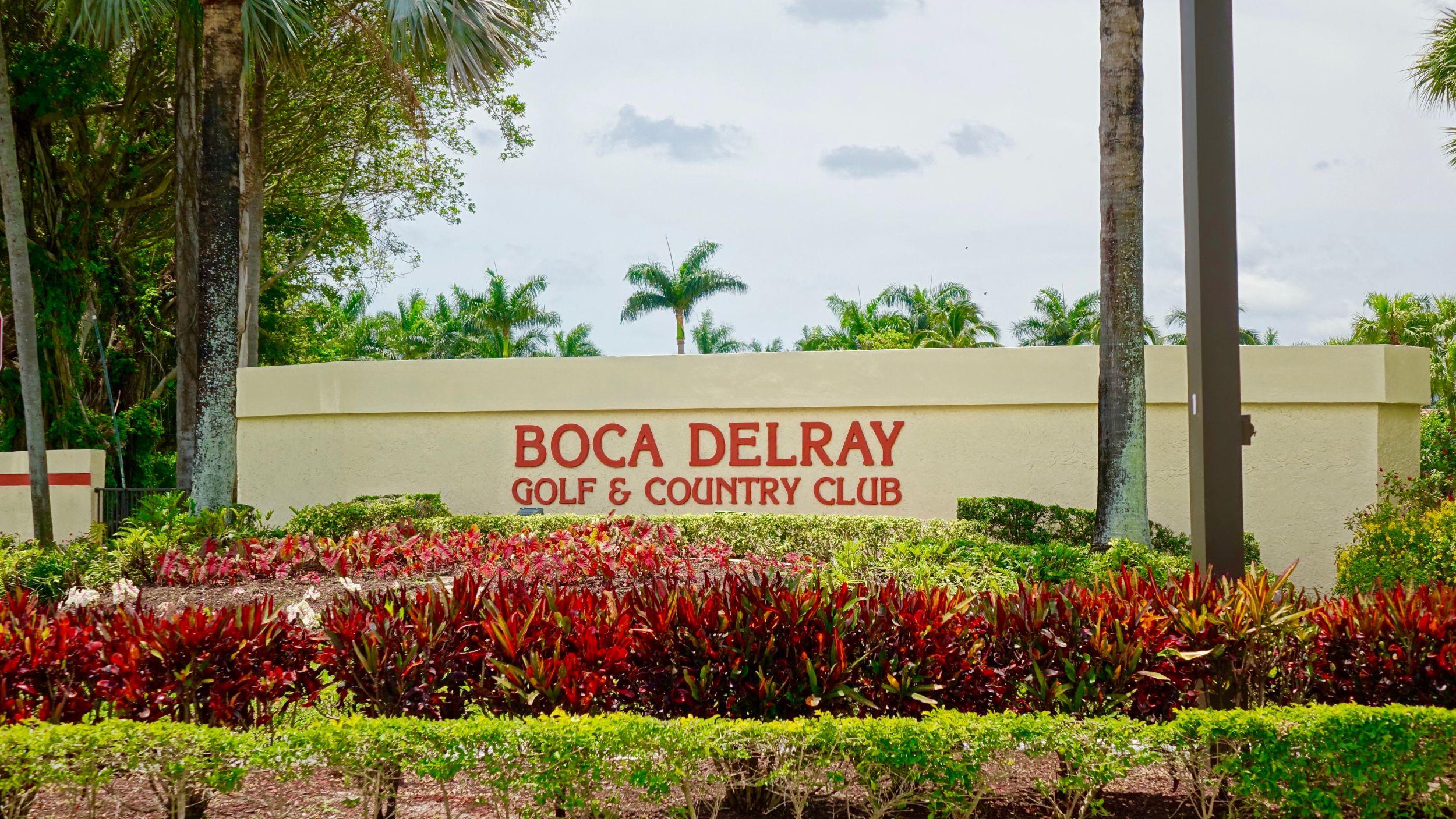 boca delray golf & cc entrance