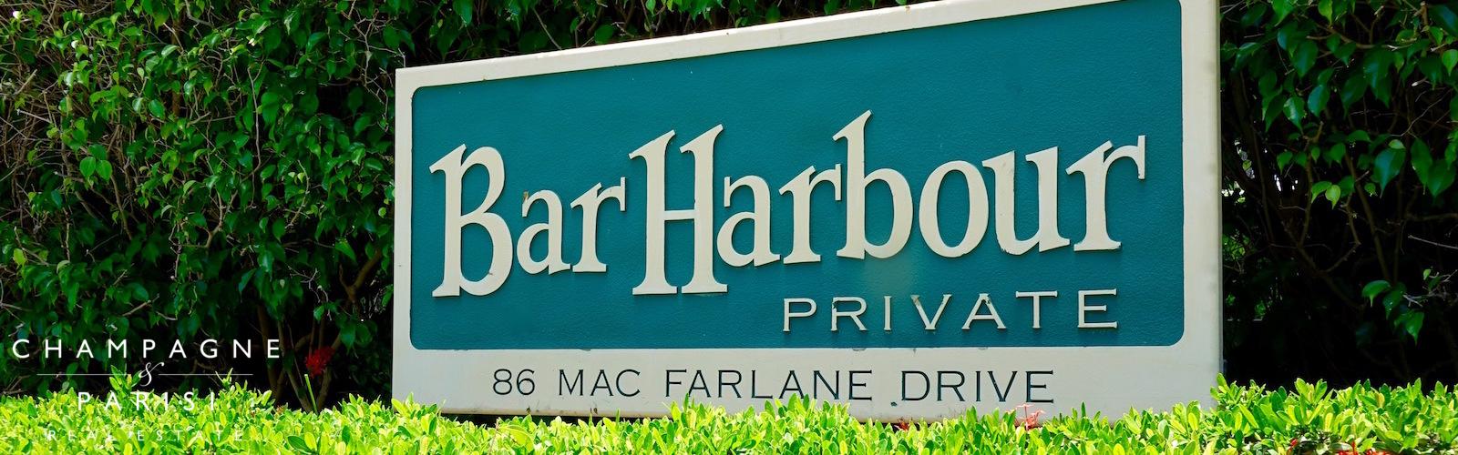 bar harbour condos