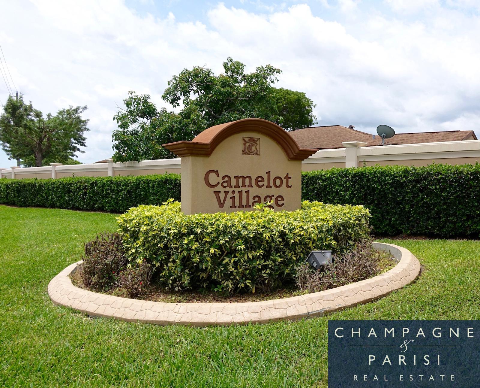 camelot village entryway