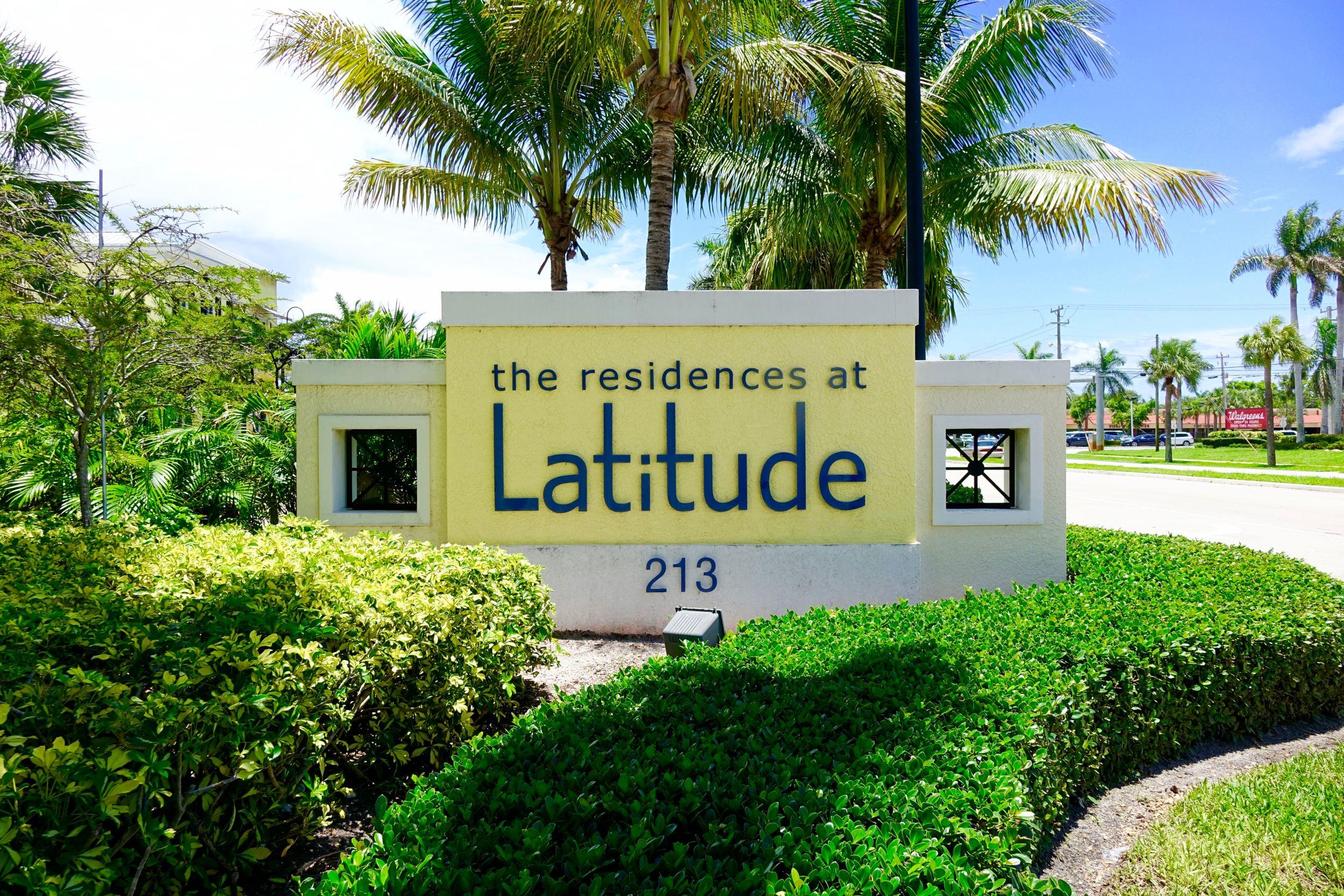 latitude condos   delray beach