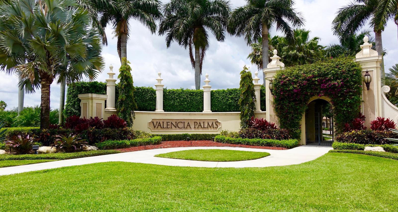 valencia palms | delray beach