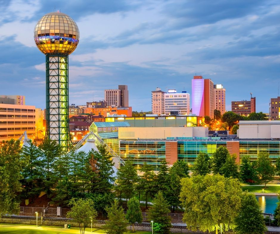 Moving to Knoxville in 2021?