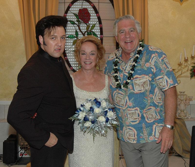 George, Mary Lou, Elvis