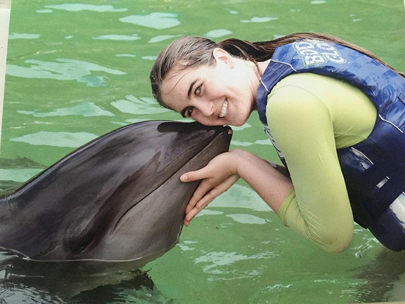 Ashley & Dolphin