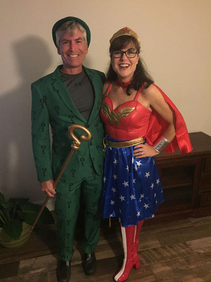Riddler & Wonder Woman