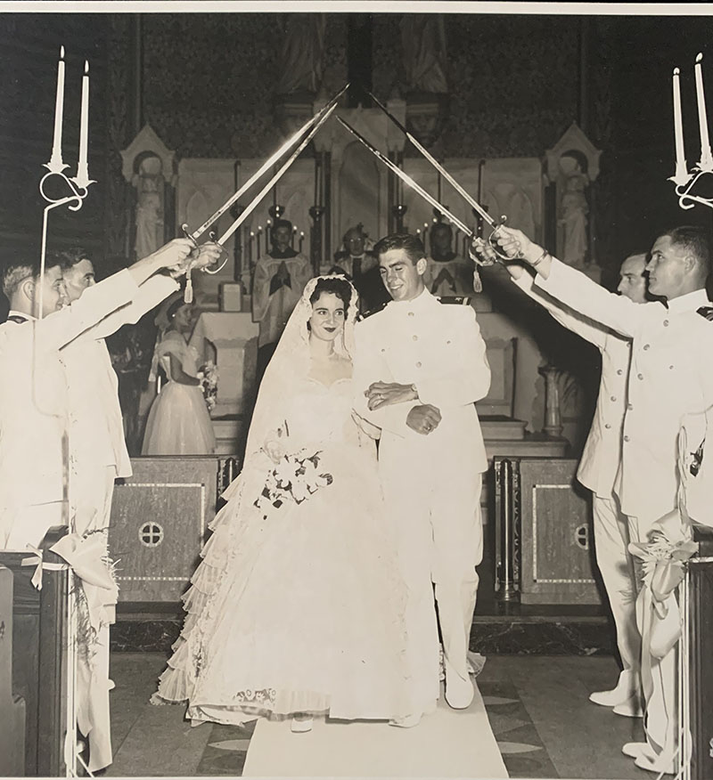 George & Mary Lou Wedding