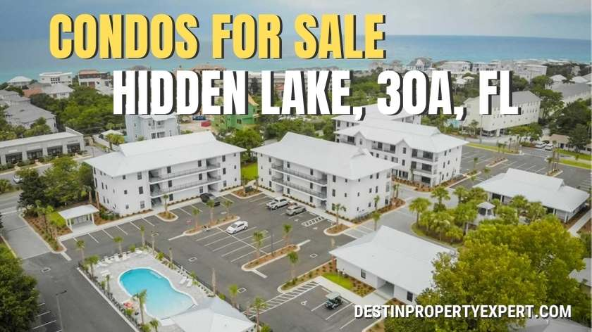 Condos for sale at Hidden Lake 30a