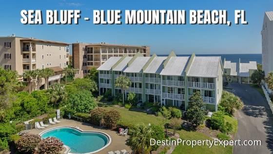 Sea Bluff Condos for sale Blue Mountain Beach Florida