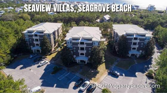 Seaview Villas condos in Seagrove Beach
