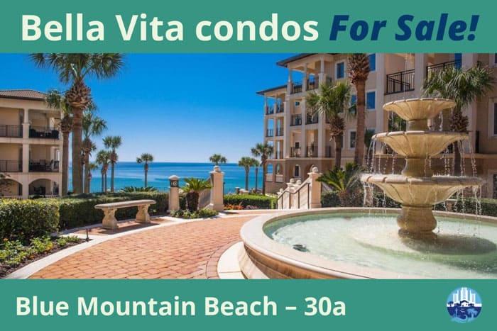 Bella Vita condos for sale on 30a