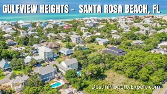 Gulfview Heights homes for sale 30a
