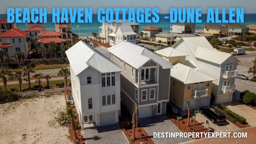 Beach Haven Cottages in Dune Allen on 30a