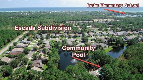 Escada neighborhood homes for sale Santa Rosa Beach