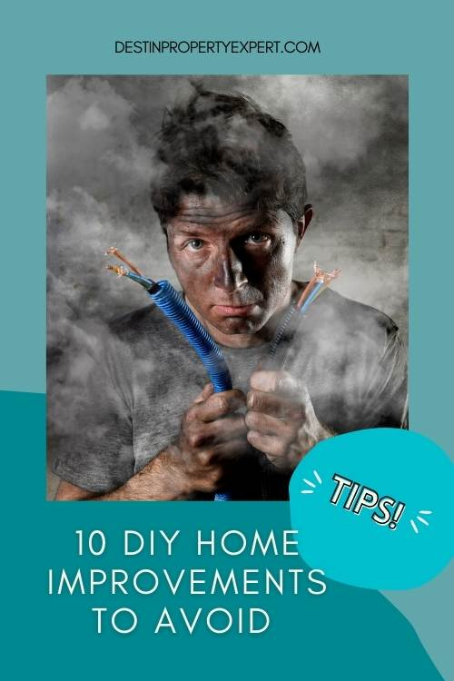 DYI home improvements you should avoid