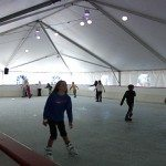 Baytown on ice is the way Sandestin ice skates in the winter