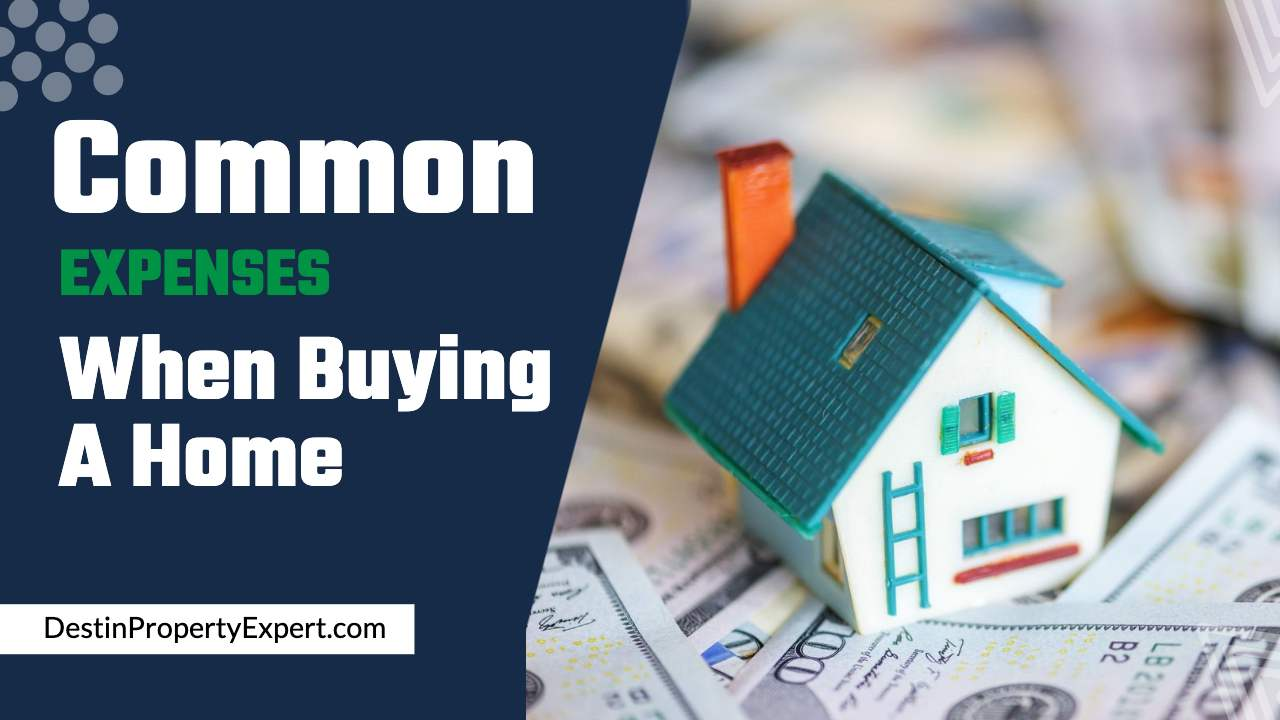 What are the common expenses when buying a home