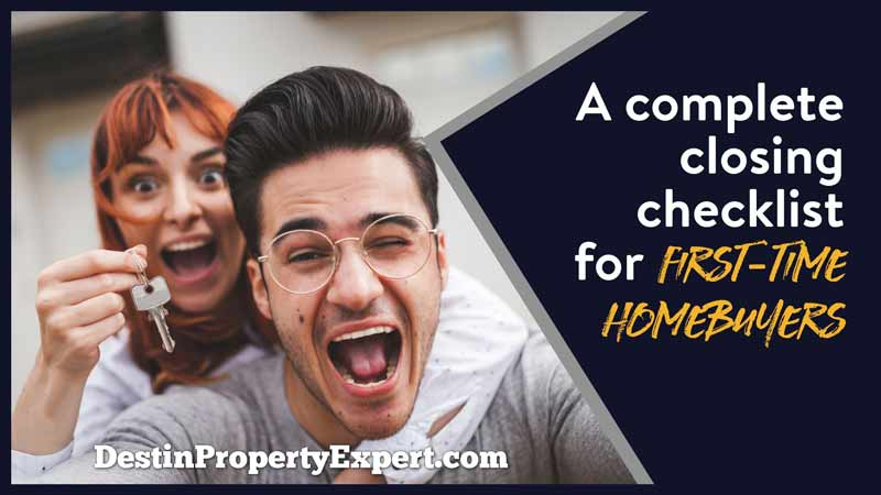 Don't try to buy a house as a first-time homebuyer without a closing checklist