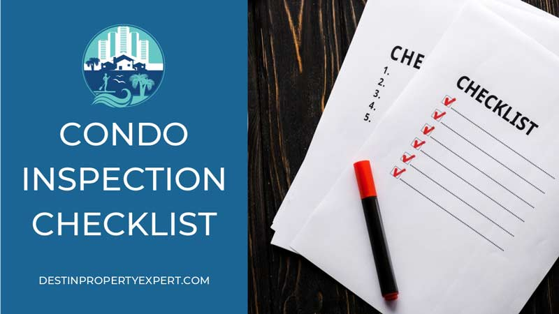 Condo inspection checklist