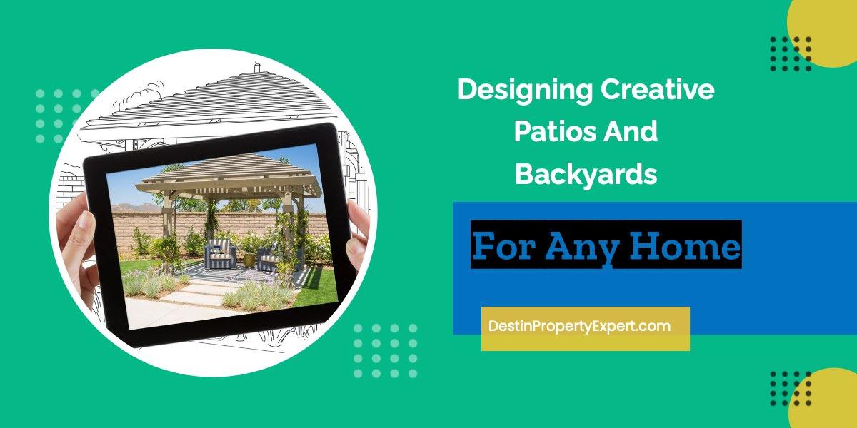Backyard and patio design